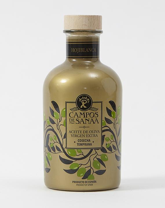 Aceite De Oliva Virgen Extra, Variedad Hojiblanca, Cosecha Temprana (500ml)