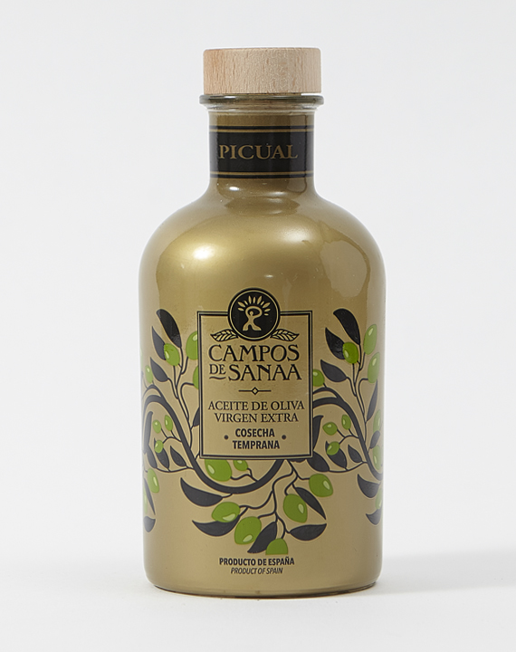 Aceite De Oliva Virgen Extra, Variedad Picual, Cosecha Temprana (500ml)