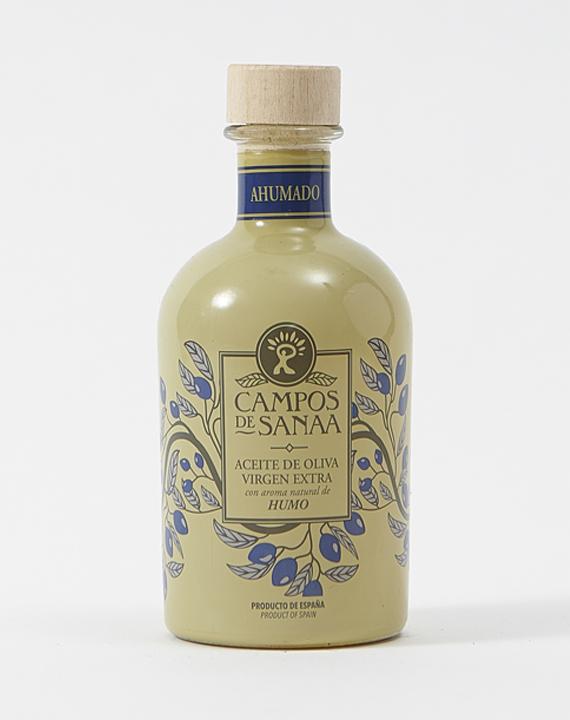 Aceite De Oliva Virgen Extra Con Esencia Natural A Humo De Roble (250ml)