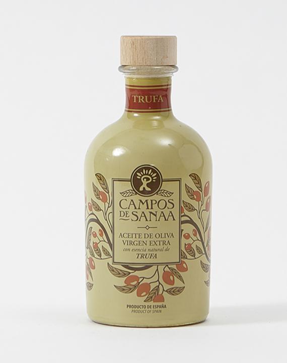 Aceite De Oliva Virgen Extra Con Esencia Natural A Trufa Negra (250ml)