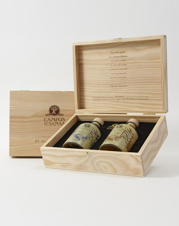 Caja De Regalo Aceites Aromatizados, Ahumado Y Trufa (2x250ml)