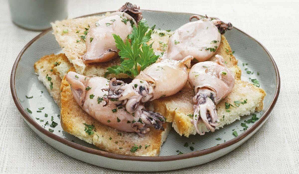 Prepara Estos Deliciosos Calamares Rellenos Para Tu Cena Navideña